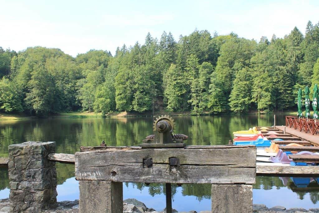 Trakošćan, jezero