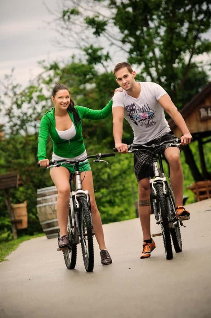 Najam bicikla - Hotel Villa Magdalena - Krapinske Toplice, Croatia