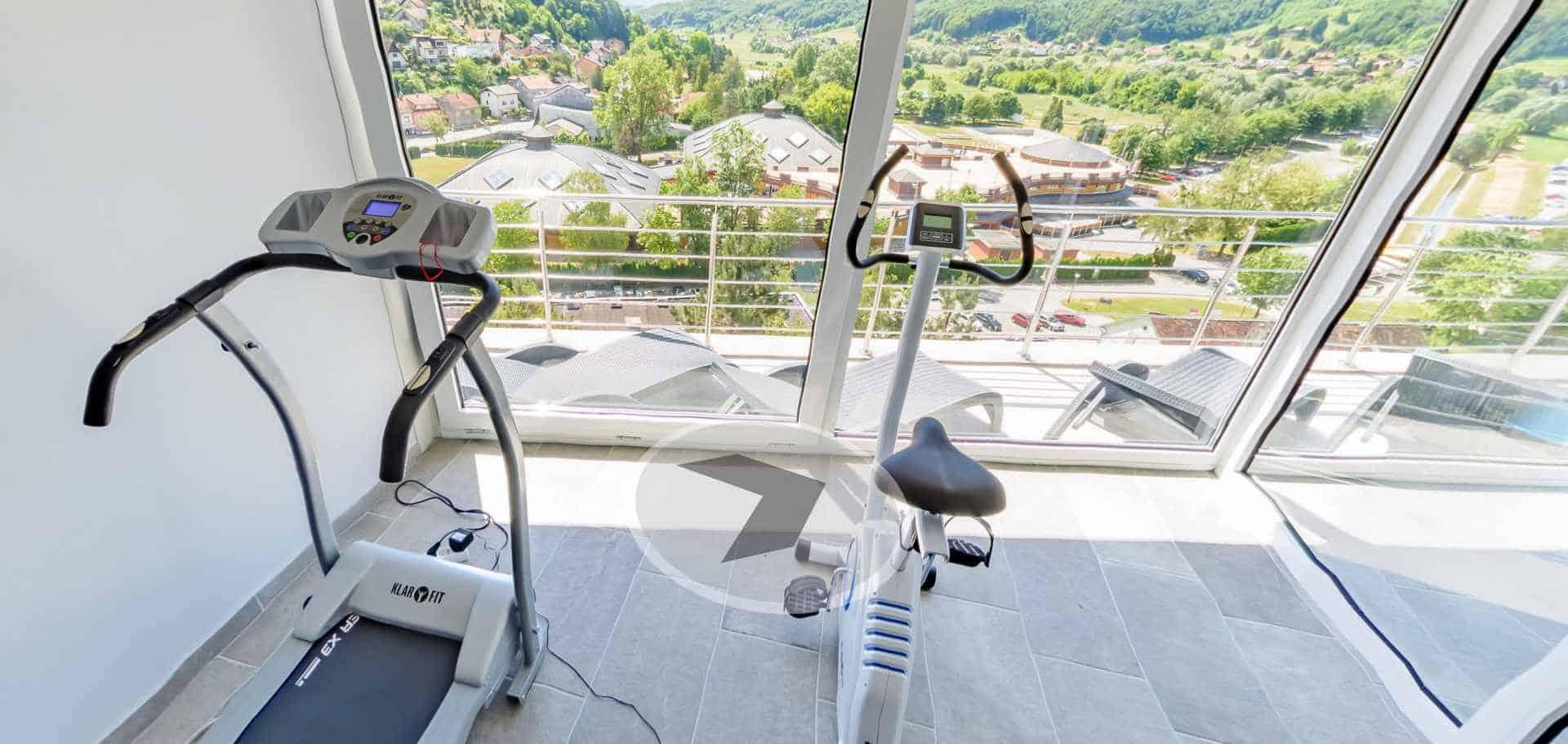 Virtualna šetnja Fitness - Hotel Villa Magdalena, Krapinske Toplice