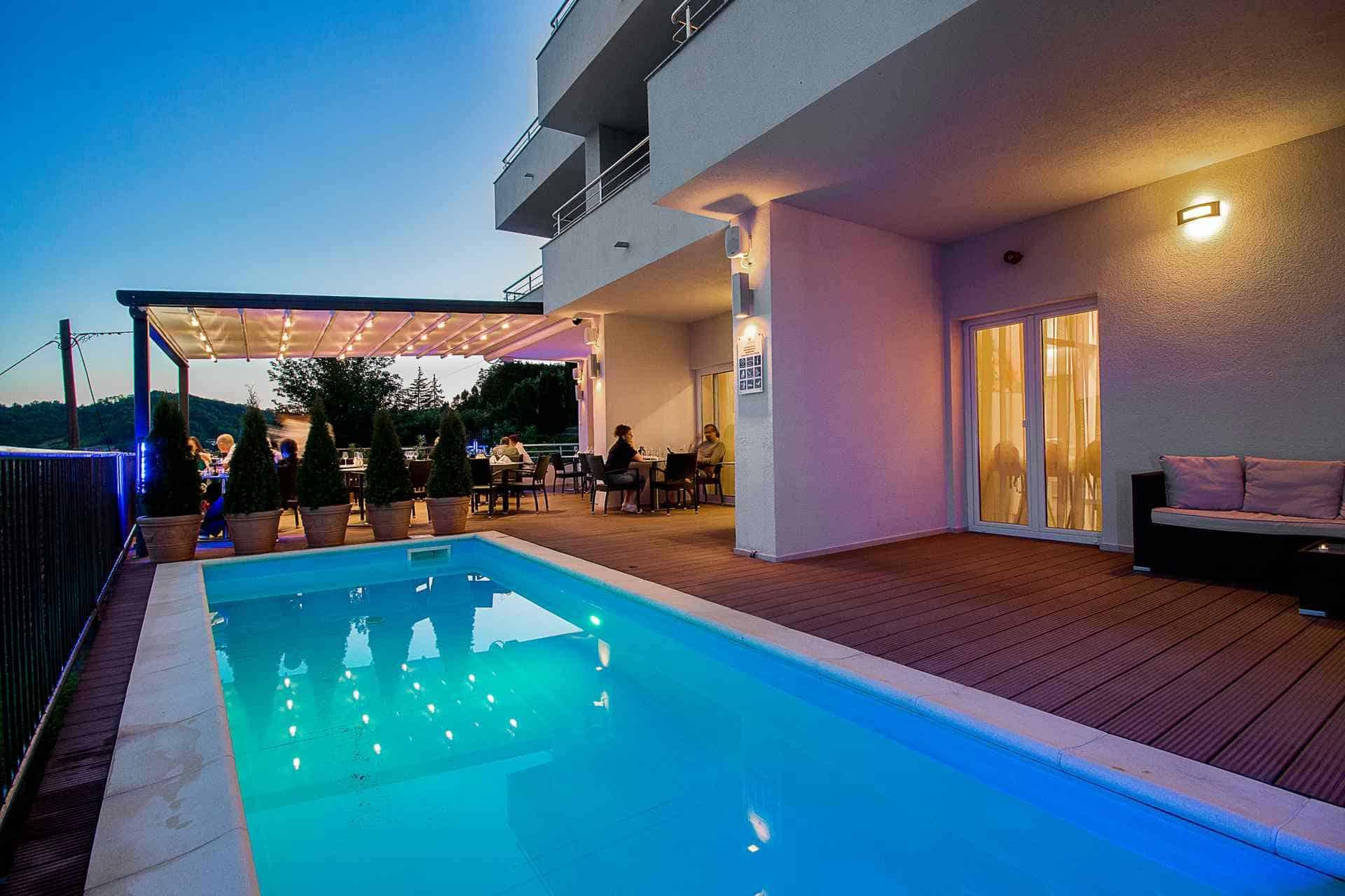 Vanjski bazen- Hotel Villa Magdalena, Krapinske Toplice