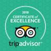 TripAdvisor Certificate of Excellence 2018 - Hotel Villa Magdalena - Krapinske Toplice, Croatia