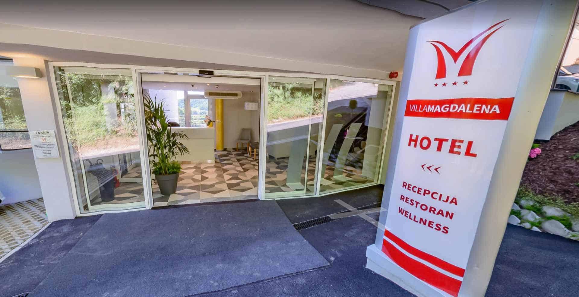 Virtualna šetnja - Hotel Villa Magdalena, Krapinske Toplice