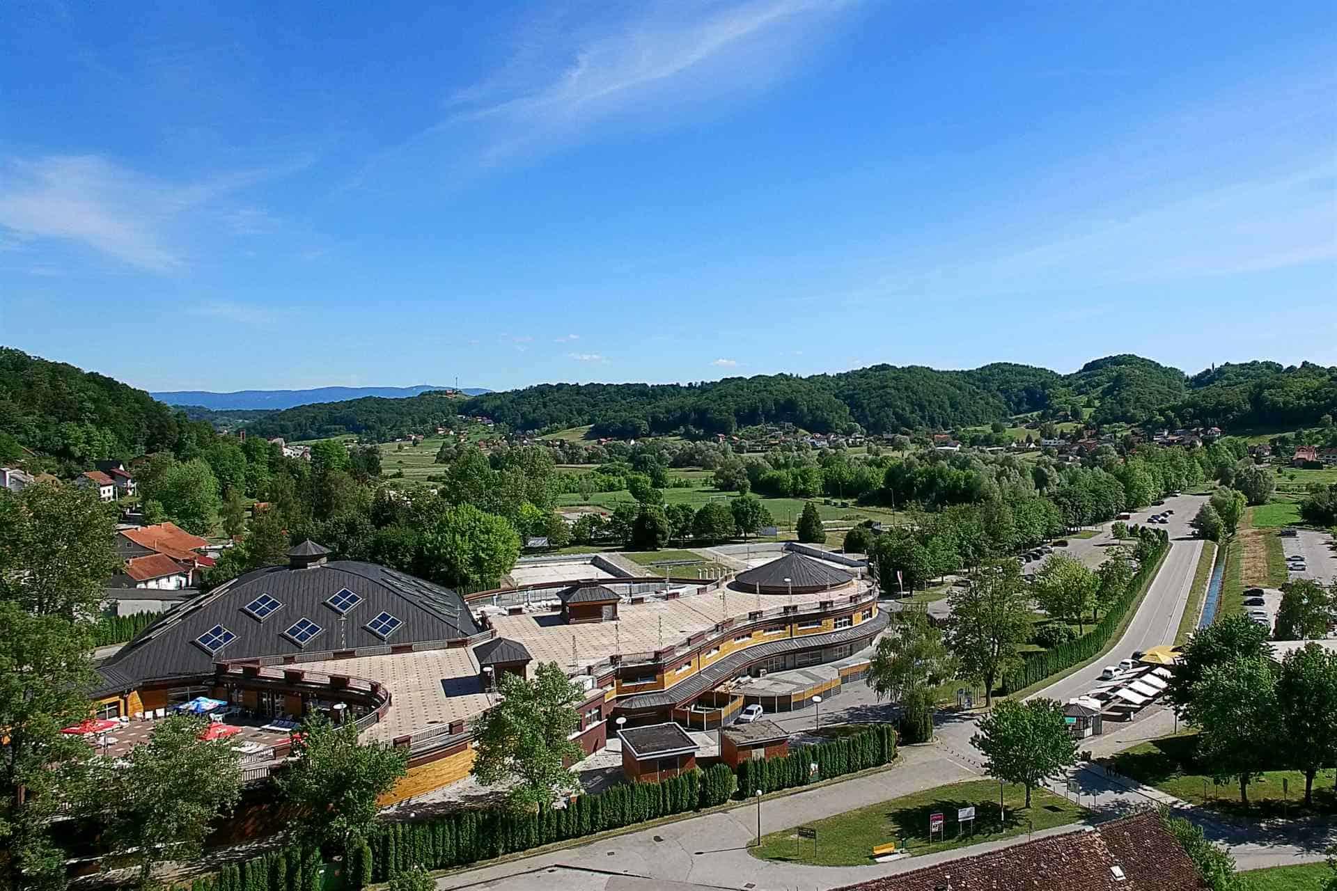 Pogled iz Spa & Wellness - Hotel Villa Magdalena, Krapinske Toplice